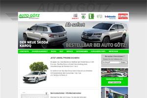 Auto Götz GmbH – Autohaus mit KFZ-Werkstatt, Gebrauchtfahrzeugangebot, Lackierbetrieb … in Bayern