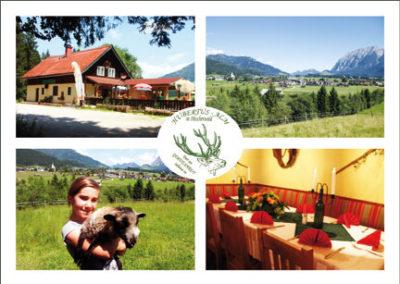 Hubertusalm – Postkarte für die Gäste – als Erinnerung oder Ansichtskarte