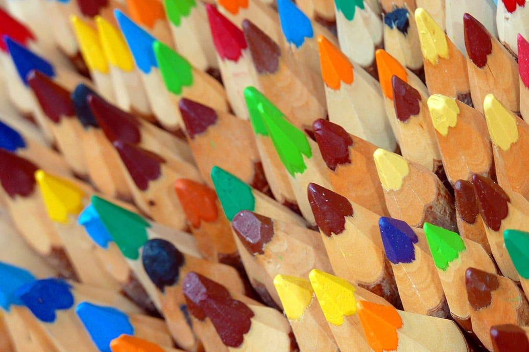 Buntstifte - für eine gute Webseite