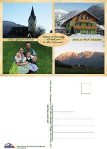 Postkarten Haus Ranner