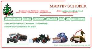 Holz- und Forstservice, Schneeräumung Martin Schber, Bad Aussee, Steiermark