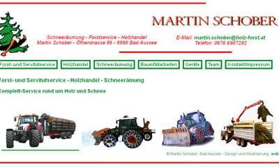 Holz- und Forstservice Martin Schober Bad Aussee