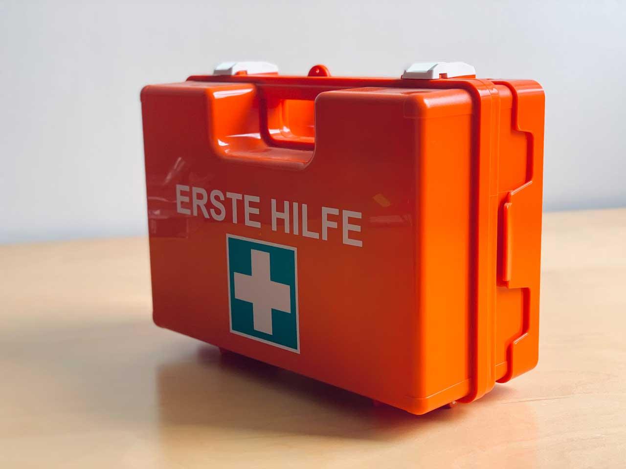 Erste Hilfe-Koffer: Digitales Notfallpaket